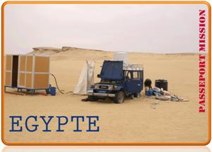 Passeport Egypte