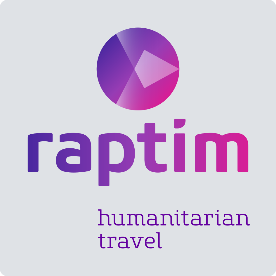 Logo raptim humanitarian travel