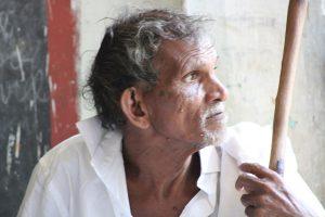 personne homme mission humanitaire inde du sud