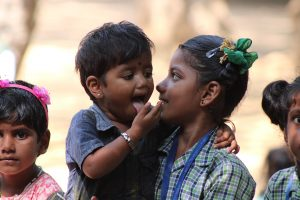 3 enfants mission humanitaire inde du sud