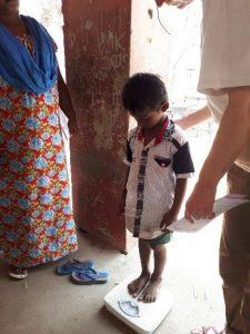 enfant consultation crise humanitaire